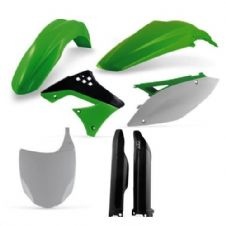 Full Acerbis Plastic Kit KXF 450 09-11 OEM Motocross Front Plate Fork Guards